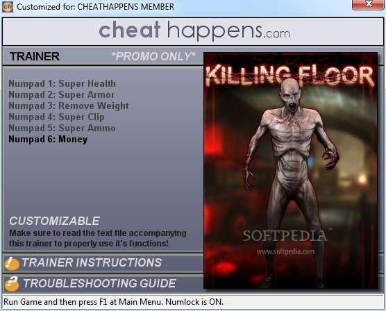 Читы для Killing Floor.