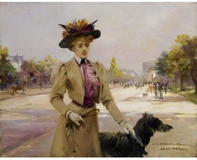 Louise ABBEMA (1858-1927) Resimleri